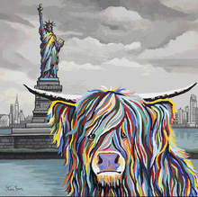 Load image into Gallery viewer, Statue of Liberty, New York: McCoo's on Tour - Steven Brown - Gallery Wrap Canvas w/ COA (Various Sizes)