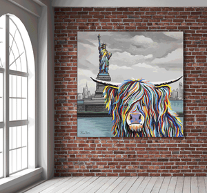 Statue of Liberty, New York: McCoo's on Tour - Steven Brown - Gallery Wrap Canvas w/ COA (Various Sizes)