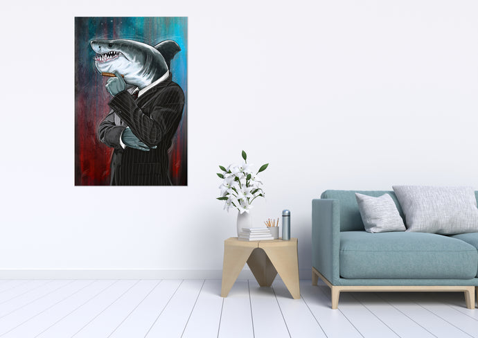 McShark - Gallery Wrap Canvas w/ COA (Various Sizes)