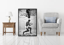 Load image into Gallery viewer, Muhammad Ali: Take the Risk - Gallery Wrap Canvas w/ COA (Various Sizes)