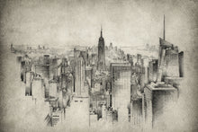Load image into Gallery viewer, Black and White New York City  - Gallery Wrap Canvas w/ COA (Various Sizes)