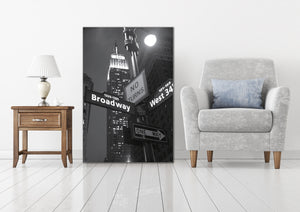 New York Streets - Gallery Wrap Canvas w/ COA (Various Sizes)