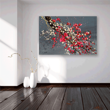 Load image into Gallery viewer, Plum & Cherry Blossoms - Simon Bull - Gallery Wrap Canvas w/ COA (Various Sizes)