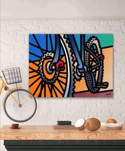 Rollin Out - Lisa Lopuck - Gallery Wrap Canvas w/ COA (Various Sizes)