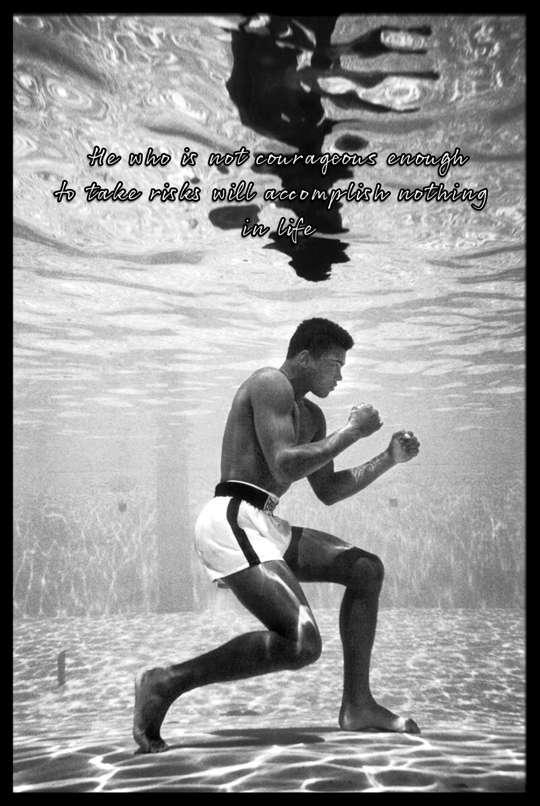 Muhammad Ali: Take the Risk - Gallery Wrap Canvas w/ COA (Various Sizes)