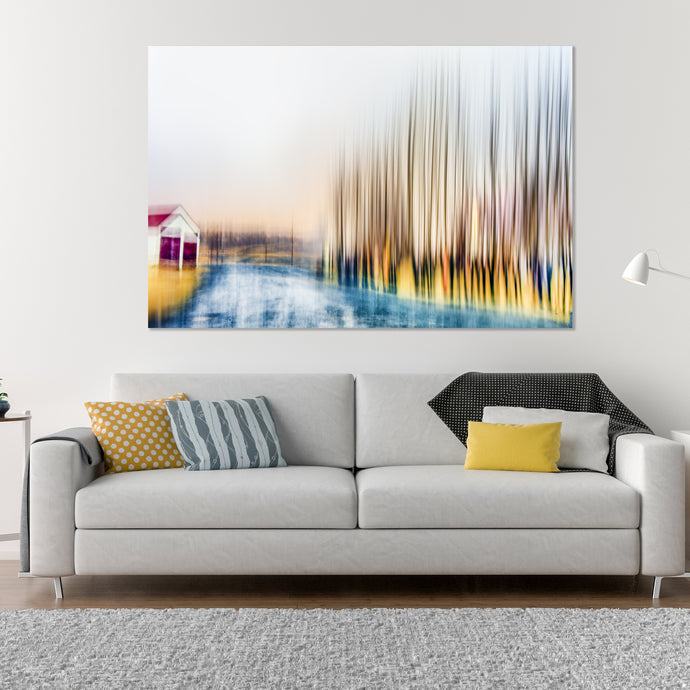 Blurry Sight  - Gallery Wrap Canvas w/ COA (Various Sizes)