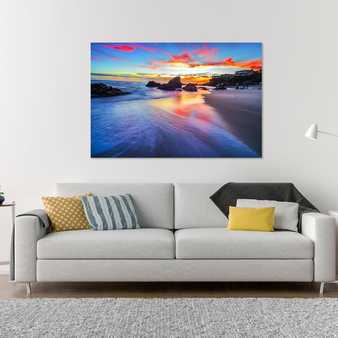 Sunset  - Gallery Wrap Canvas w/ COA (Various Sizes)