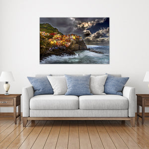 Manarola - Gallery Wrap Canvas w/ COA (Various Sizes)
