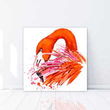 Load image into Gallery viewer, Flamingo - Gallery Wrap Canvas w/ COA (Various Sizes)