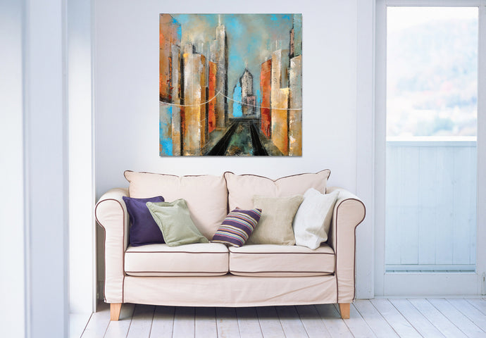 Acropolis 2 - Gallery Wrap Canvas w COA (Various Sizes)