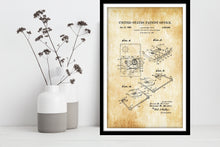 Load image into Gallery viewer, Cassette Tape Patent Print - Gallery Wrap Canvas w/ COA (Various Sizes)