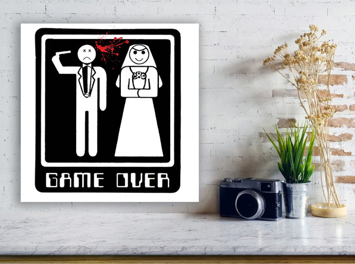 Game Over - Gallery Wrap Canvas w/ COA (Various Sizes)