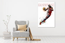 Load image into Gallery viewer, Houston Rockets Harden - Gallery Wrap Canvas w/ COA (Various Sizes)