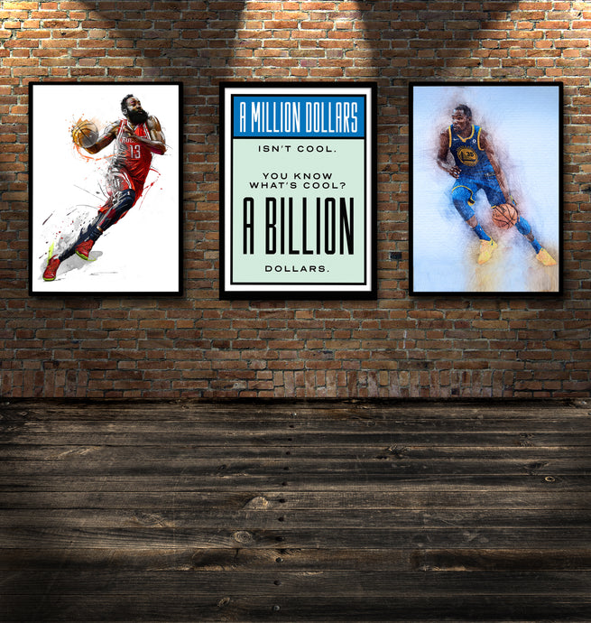 Billionaire - Gallery Wrap Canvas w/ COA (Various Sizes)
