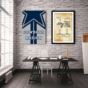 Cowboys Nation - Gallery Wrap Canvas w/ COA (Various Sizes)