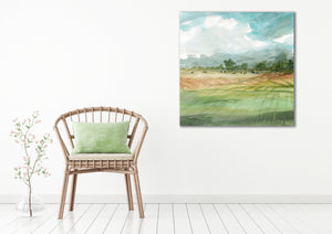 Afternoon at the Farm - Gallery Wrap Canvas w/ COA (Various Sizes)