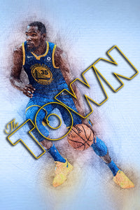 Kevin Duran, Golden State - Gallery Wrap Canvas w/ COA (Various Sizes)