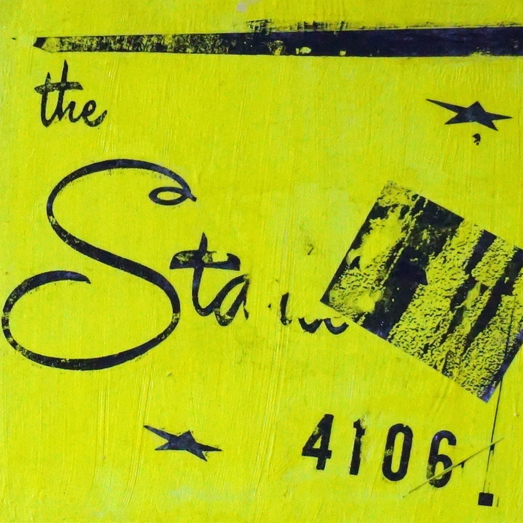 "The Starlet Mixed Media | Size 8X8X1.5"" - FranLamothe"