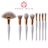 8 pcs Professional Makeup Brushes Set
