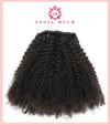 SPOIL MUCH CURLS™ -  100% REAL HUMAN HAIR, KINKY CLIP IN