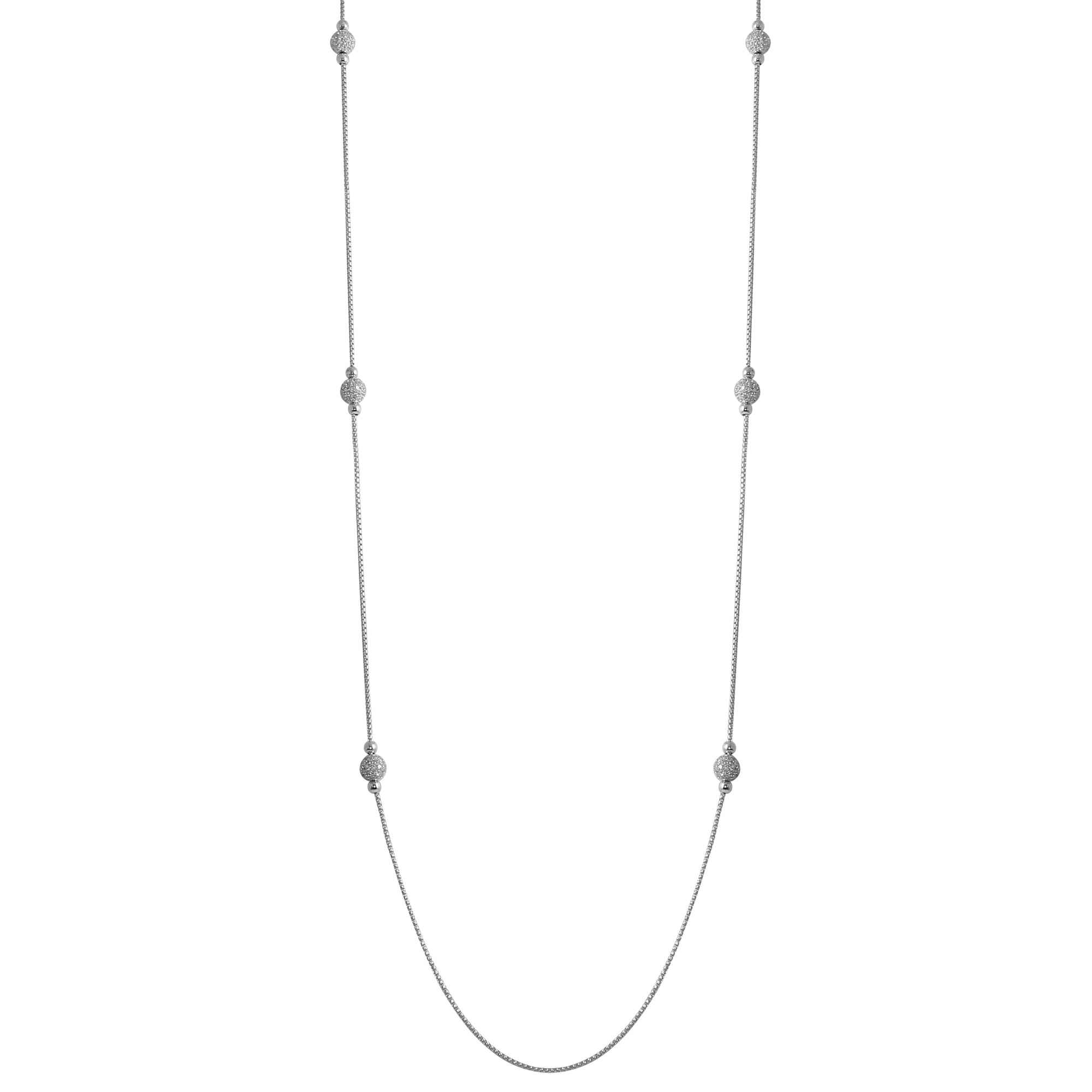 "SS 36"" CZ Diamondlite Necklace"