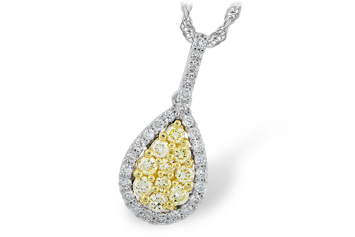 14k White Gold Diamond Ring Enhancer