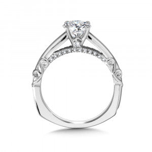 14kt .13ctw Valina Diamond Semi Mounting