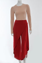 Load image into Gallery viewer, Red wrap pants