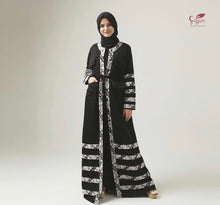 Load image into Gallery viewer, Laily Abaya 100% Cotton Indonesian Batik Dress