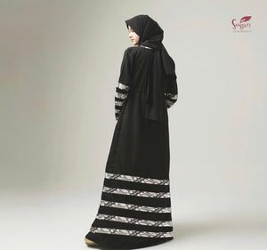 Laily Abaya 100% Cotton Indonesian Batik Dress