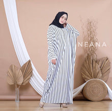 Load image into Gallery viewer, Vertical Stripe Maxi Dress