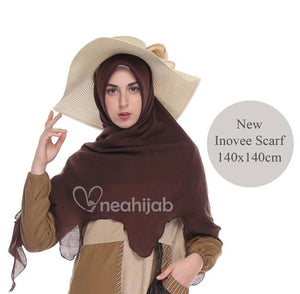 "Chocolate ""Innovee Scarf"" 100% Cotton"