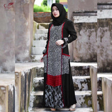 Load image into Gallery viewer, Nurul Huda 02 Indonesian Maxi Dress with Long Sleeves