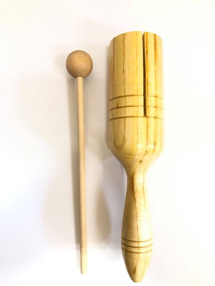 Woodblock with Handle