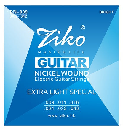Ziko Extra Light Special Electric Guitar Strings