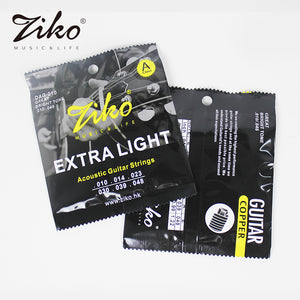Ziko Extra Light Acoustic Guitar Strings