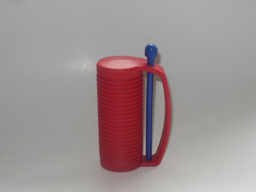 Red Plastic Guiro
