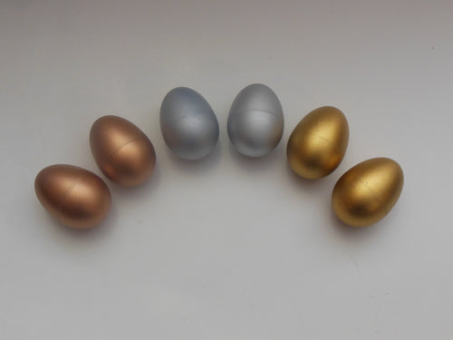 Egg Shakers in 3 styles