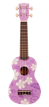 Load image into Gallery viewer, Makai Colored Soprano Ukulele w/ Graphics