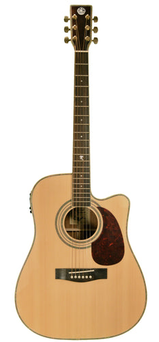 Revival RG-12CE Spruce, Black Walnut Dreadnought Cutaway Guitar