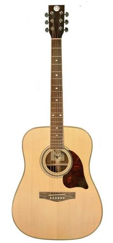 Revival RG-24 Glossy Solid Spruce, Black Walnut Dreadnought Guitar