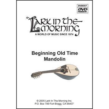 Media Beginning Old Time Mandolin DVD