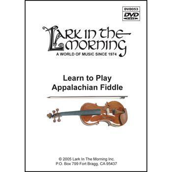 Media Learn to Play Appalachian Fiddle DVD