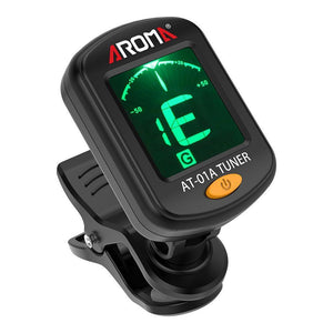 Tuners & Recorders Aroma AT-01A Clip On Chromatic Tuner