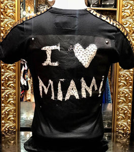 "Short Sleeve T-shirt ""I Love Miami"