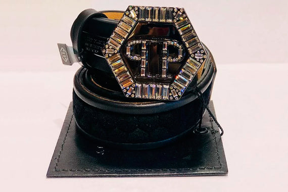 Philipp Plein Luxury Leather Belts