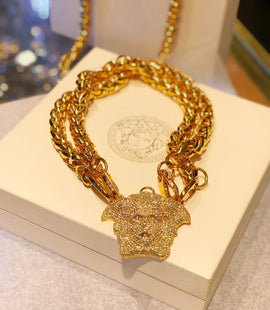 Versace Gold Necklace