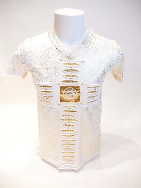 THE SAINTS SINPHONY 1924 SS WHITE WITH GOLD