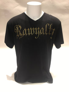 RAWYALTY RMTV-117G-G GOLD WINGS BLACK