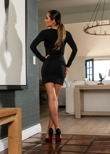 DR8026 BLACK DRESS